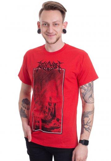Revocation - Debt Red - T-Shirt