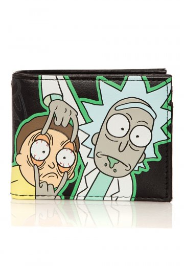Rick And Morty - Glow In The Dark Bifold - Wallet