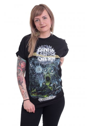 eabfac82a Rings Of Saturn - Dingir - T-Shirt - Official Tech Metal Merchandise Shop -  Impericon.com Worldwide