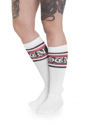 Rise Of The Northstar - ROTN White/Red - Socks