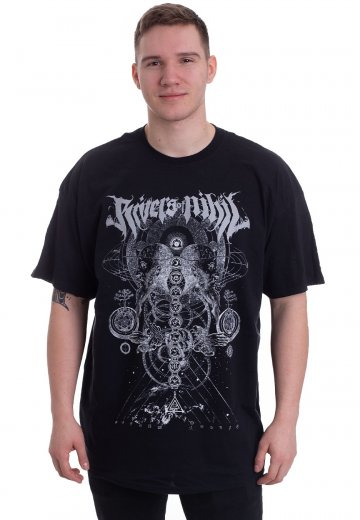 Rivers Of Nihil - Philosopher Tour 2018 - T-Shirt
