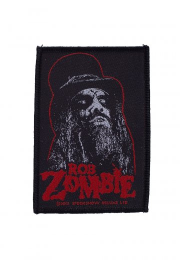 Rob Zombie - Portrait - Patch
