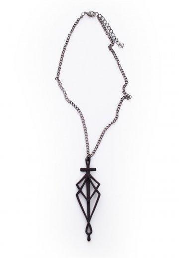 Rogue + Wolf - SpiderSilk  Blade Black - Necklace