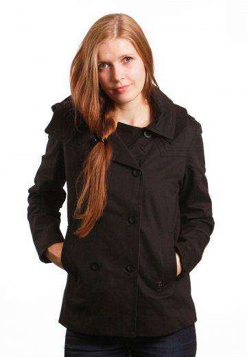 82fbd7bacda4 Roxy - Soho True Black - Girl Jacket - Streetwear Shop - Impericon ...