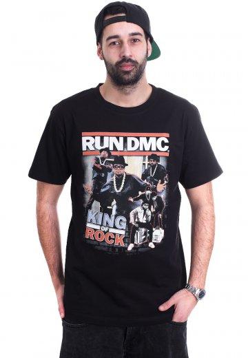 2d82b4f6 Run DMC - King Of Rock - T-Shirt - Official Alternative Rock ...