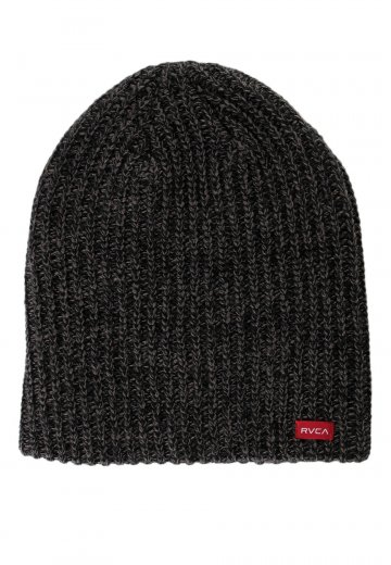93b88184aac RVCA - Based Dark Charcoal - Beanie - Streetwear Shop - Impericon.com US