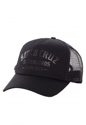 Santa Cruz - Blackletter Black - Cap