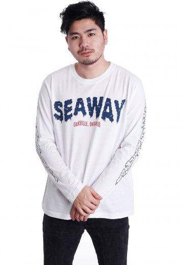 Seaway - Ice Logo White - Longsleeve