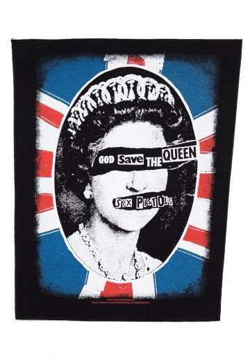 Sex Pistols - God Save The Queen - Backpatch