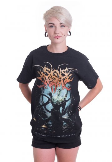Signs Of The Swarm - The Disfigurement Of Existence Cover - T-Shirt