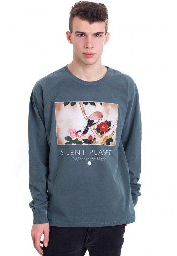 Silent Planet - Bird Heather Forest Green - Longsleeve