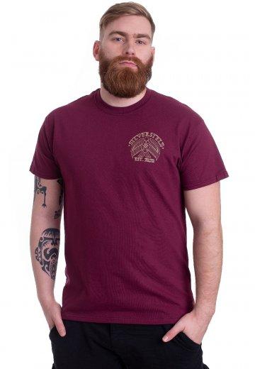 Silverstein - Eagle Eye Maroon - T-Shirt