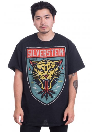 Silverstein - Tiger Shield - T-Shirt