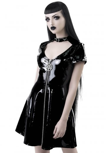 Killstar - Sin City Black Skater - Dress
