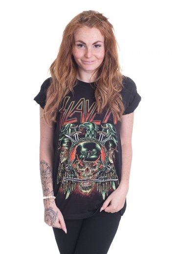 Slayer - Prey With Background - T-Shirt