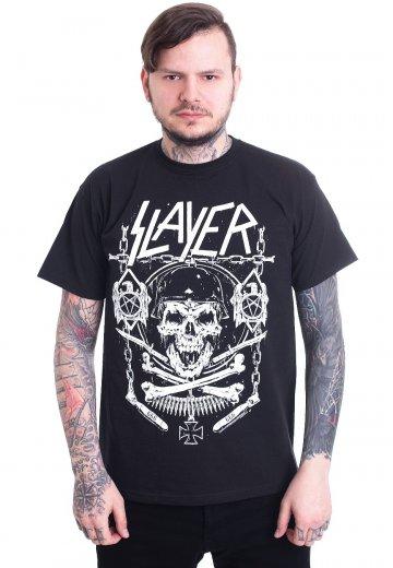 Slayer - Skull & Bones Revised - T-Shirt