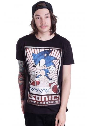 Sonic The Hedgehog Sonic Vintage T Shirt Impericon Com De
