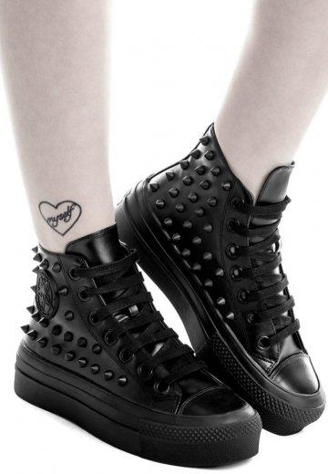 Killstar - Souled Out High Black - Girl Shoes