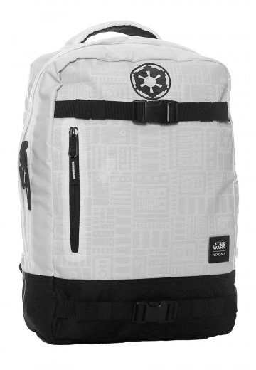 99a1bff27c3 Nixon x Star Wars - Del Mar SW Stormtrooper White - Backpack -  Impericon.com UK