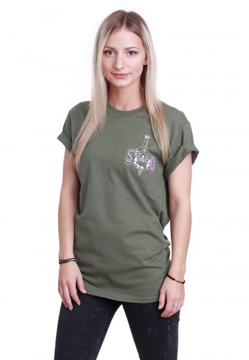 Stick To Your Guns - You And Me Military Green - T-Shirt