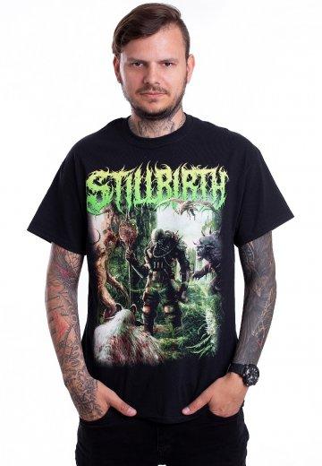 Stillbirth - Annihilation Of Mankind Cover - T-Shirt