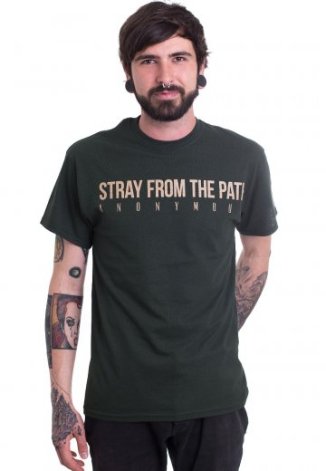 Stray From The Path - Anonymous 5 Year Anniversary Forest Green - T-Shirt