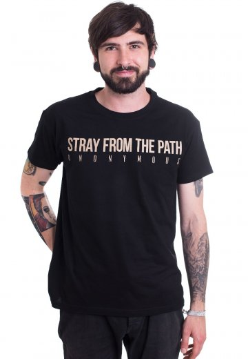 Stray From The Path - Anonymous 5 Year Anniversary - T-Shirt