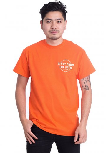 Stray From The Path - Death Is After Your Soul Orange - T-Shirt