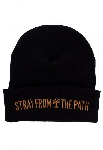 Stray From The Path - Golden Bandlogo - Beanie