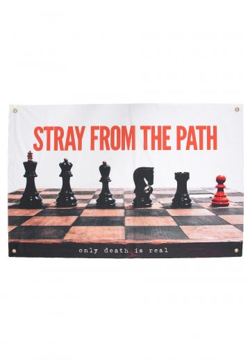 Stray From The Path - Only Death Is Real - Flag