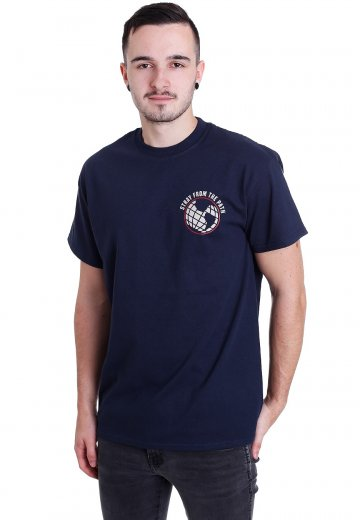Stray From The Path - Red White And Blue Navy - T-Shirt