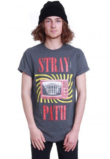 Stray From The Path - Retro House Dark Heather - T-Shirt