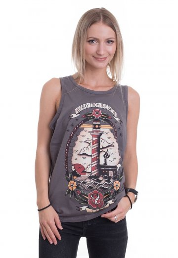 Stray From The Path - Tattoo Lighthouse Charcoal - Tank