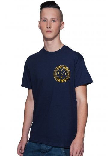 Stray From The Path - The World Is Not Waiting Navy - T-Shirt