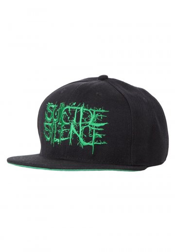 Suicide Silence - Green Fuck Everything Snapback - Cap - Impericon.com  Worldwide f89ad20302b2