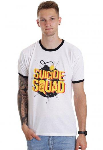 Suicide Squad - Exploding Bomb White - T-Shirt