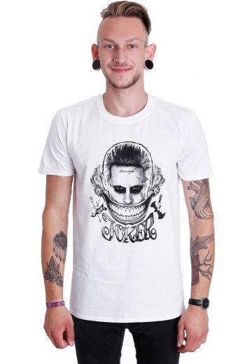 Suicide Squad - Joker Face White - T-Shirt