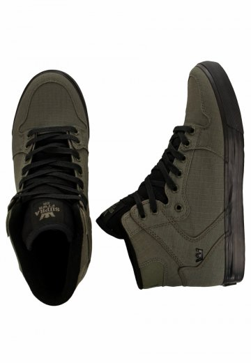 low priced 2acd4 afe05 Supra - Vaider High Olive - Shoes - Streetwear Shop - Impericon.com UK