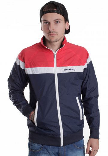 Supremebeing - Reach Navy - Coupe vent -