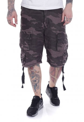 Surplus - Division Black Camo - Shorts - Streetwear Shop - Impericon ... 011f01a4fb5