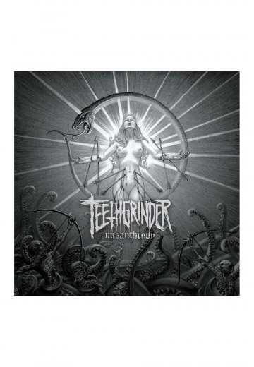 Teethgrinder - Misanthropy - Digipak CD
