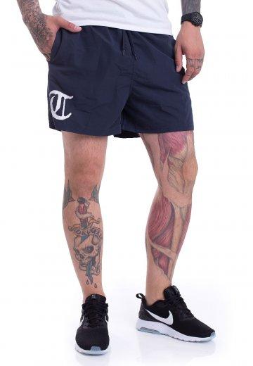Terror - T Logo Navy - Shorts