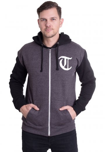 Terror - One With The Underdogs Charcoal/Black - Zipper