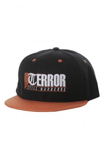 a41850d1618 Terror - Still Hardcore Black Orange Snapback - Cap - Impericon.com UK