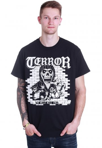 Terror - The Walls Will Fall Cover - T-Shirt