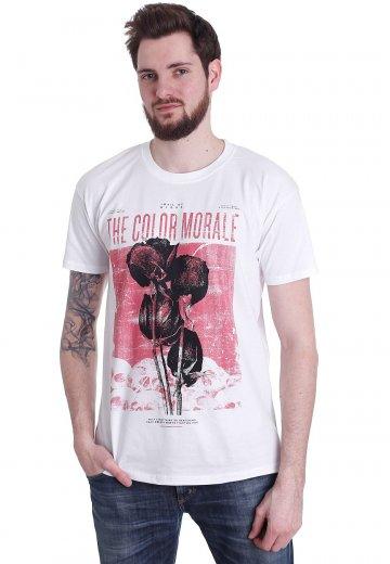 The Color Morale - Rose Splatter White - T-Shirt