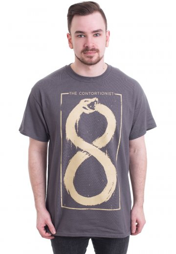 The Contortionist - Infinite Snake Charcoal - T-Shirt