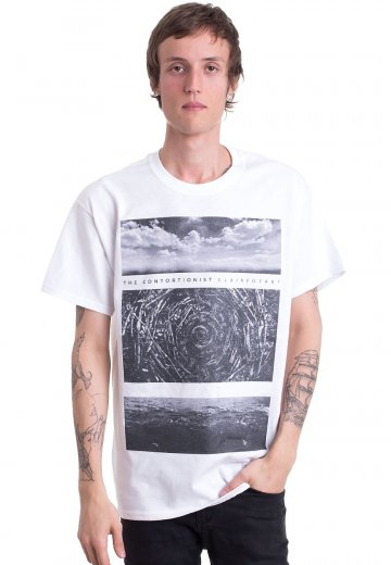 The Contortionist - Waves White - T-Shirt