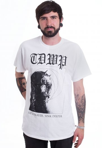The Devil Wears Prada - Sink Deeper White - T-Shirt