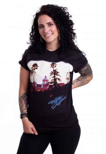 da4399d9c233 Eagles - Hotel California - T-Shirt - Official Folk Rock Merchandise Shop -  Impericon.com AU
